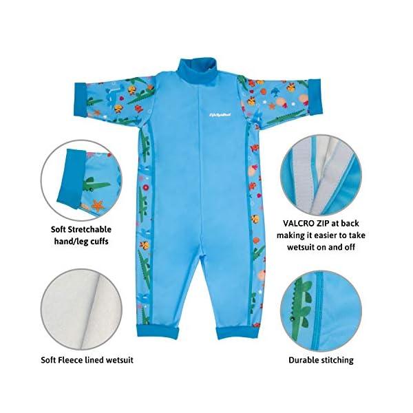 LifeStyleMall - Traje de baño de bebé cálido en uno - diseños lindos - niños niñas unisex 3
