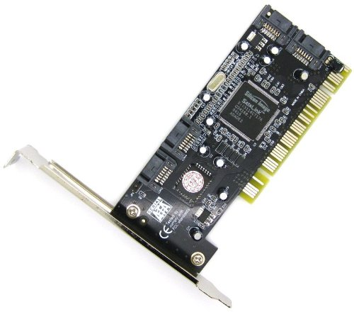 4 Port SATA RAID PCI Karte auf Konverter Silikon Bild Sil3114 Chipsatz -