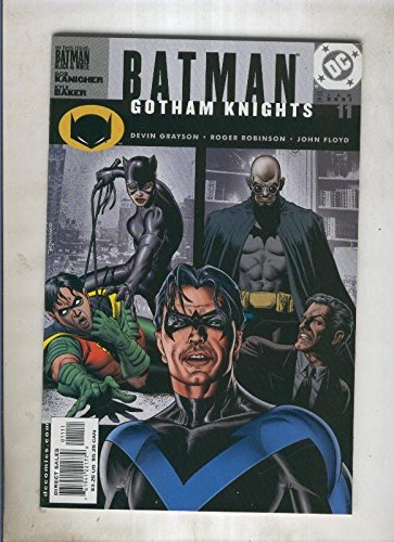 Batman gotham knights numero 11