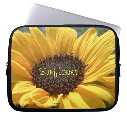 christmas-gifts-for-women-10-108-inch-golden-sunflower-patterns-neoprene-computer-sleeve-for-women-l