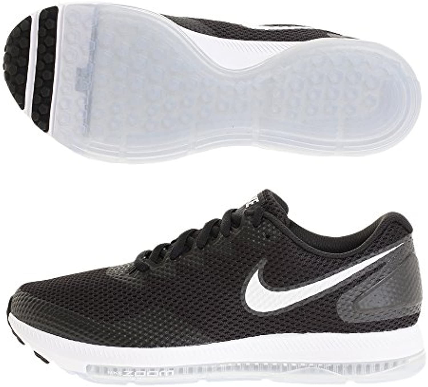 Nike Zoom All Out Low 2, Zapatillas de Trail Running para Hombre, Negro (Black/White/Anthracite 003), 45 EU