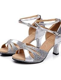 shangyi No personalizable–Bajo tacón–Glitter/lentejuelas–Latin–Mujer Dorado dorado Talla:us8 / eu39 / uk6 / cn39 BtvwaQlw7w