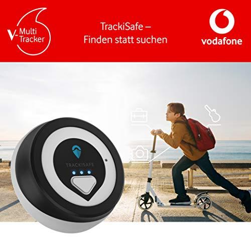 V-Multi Tracker by Vodafone - GPS Tracker für Taschen, Rucksäcke, Gepäck, Laptops und E-Scooter