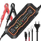 Best Batteries de voiture - KYG Chargeur de Batterie pour Voiture 6/12V 5A Review