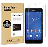 [Lot de 2] Sony Xperia Z3 Compact Protection écran, VGUARD [0.30 mm Dureté 9H] Film Protection d'écran en Verre Trempé Glass Screen Protector Vitre Tempered pour Sony Xperia Z3 Compact - Dureté 9H, Ultra-mince 0.30 mm, 2.5D Bords Arrondis- Anti-rayure,