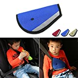 #8: Blue Colour Child kids car seat belt safety adjustment cover cushion. Car Accessories