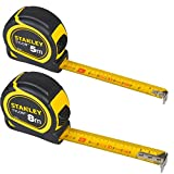 Stanley Maßband Set 5m+8m Metall Autostop Softgrip