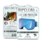 Ripclear Dragon DX Snow Goggle Lens Protector Kit - Scratch-Resistant, Crystal Clear - 3-Pack