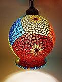 Susajjit Decorative Designer Chandelier Ceiling Lamp Beautiful Look Hanging Glass Lantern for Home, Office Decoration & Festive Decoration Showpiece