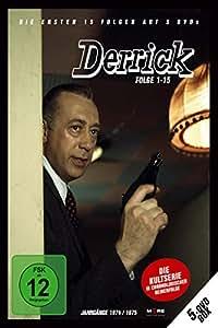 Derrick Collector's Box, Folge 1 - 15 [5 DVDs]