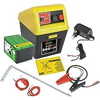 12 Volt Adapter mit Krokoklemmen für Weidezaungeräte Weidezaungerät Elektrozaun