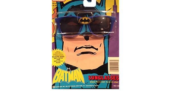 Batman Kind Größe Sonnenbrille mit blau Frames 1988sehr seltenes Sammlerstück WSJ5h