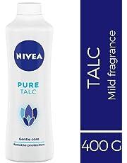 NIVEA Pure Talc, 400g, Mild fragrance powder