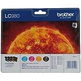 Brother LC980VALBP Tintenpatrone, Multipack, schwarz/cyan/magenta/gelb