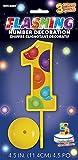 Numero gigante per decorazione torta, a flash led Il numero già compreso di batteria per accenderla rimuovere la protezione Batteria inclusa Altezza numero 15 x9 cm Scegli il tuo numeri preferito Accessorio per festa compleanno Il colore del ...