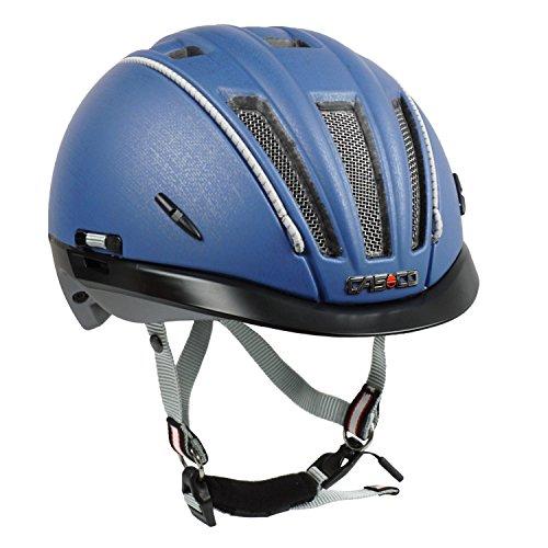 Casco Fahrradhelm Roadster-TC, Jeansblau - Biese Silber, Gr. M-L (58-60 cm)