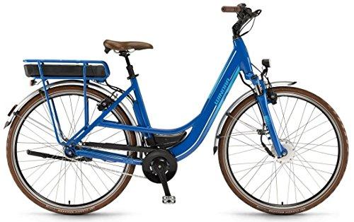 E-Bike Winora X375.F Einrohr 26\' 7-G AGT Freilauf 36V Modular ohne Akku!!!!, Rahmenhöhen:46;Farben:blau