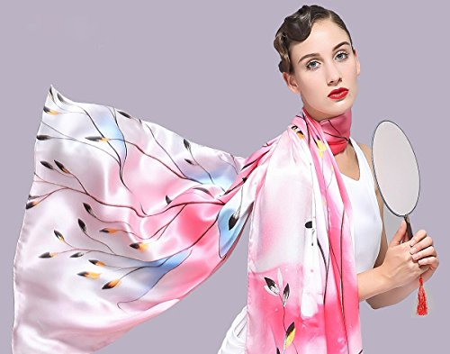 SILKTALK - Châle - Femme PinkBlue