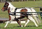 ZILCO SL Hundegeschirr, für Pferdewagen, mit Band zum Zurückschieben