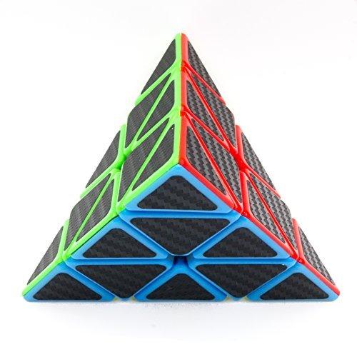 3×3×3 Speed Cube, Carbon Fiber Sticker Twisty Puzzle für Kinder Intelligenz Entwicklung, Speed Cubing Anfänger oder Puzzle Enthusiasten (Muster Halloween Benutzerdefinierte)