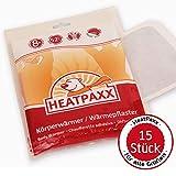 HeatPaxx Körperwärmer - Dünne Wärmepflaster für punktgenaue Wohlfühlwärme | 15 oder 40 Wärmespender im...