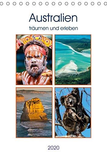 Australien träumen und erleben (Tischkalender 2020 DIN A5 hoch): Bunte Eindrücke aus Australien (Monatskalender, 14 Seiten ) (CALVENDO Orte) (Reef Bekleidung)