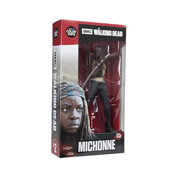 The Walking Dead TV Version Figura Michonne 18 cm 2