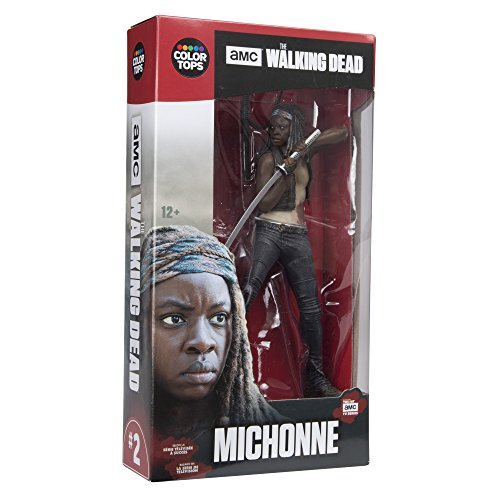 "Image of Walking Dead 14672 ""TV Michonne 7IN Colour Top Red"" Action Figure"