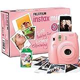 Fujifilm Instax Mini 8 Appareil photo instantané avec 20 films Rose