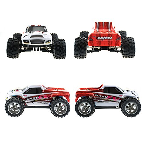 efaso WL Toys A979-B - schneller RC Monstertruck 70 km/h schnell, wendig, voll digital proportional - 2.4 GHz RC Auto mit Allradantrieb - Maßstab 1:18, hoher Fun Faktor - 3