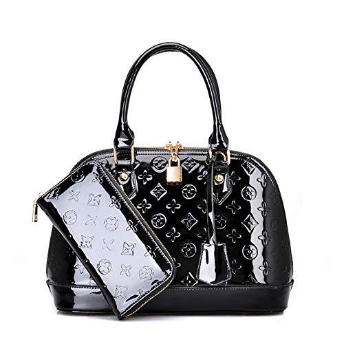 YZJLQML Dame bagsSimple Crossbody Schulter Mode Handtaschen @ schwarz