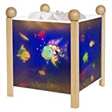 """Trousselier Nachtlampe,Snowshoe Pair 12V """"Magic Lantern Rainbow Fish"""" 4366"""