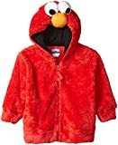 Sesame Street Elmo Faux Fur Kids Fancy dress costume Hoodie 3T
