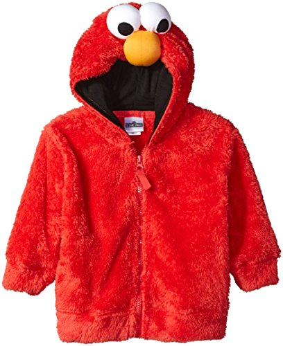 aux Fur Kids Fancy dress costume Hoodie 3T (Sesame Street Kostüme Für Kinder)