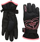 Roxy Damen Poppy Snowboard/Ski Gloves 8-16, Anthracite, M, ERGHN03010