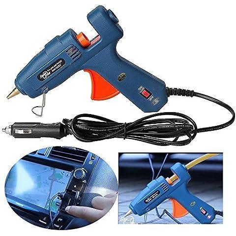 Autopdr® 60W Caricatore per auto 12V accendisigari per pistola colla a caldo professionale per Paintless Auto Body Dent Repair Tool
