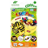 Feuchtmann Juguetes 6340706 - Klecksi Creame Máscaras, 3D - colorear, Tigre y adorno del pájaro