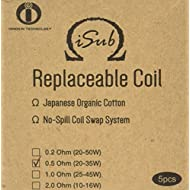 INNOKIN 0.5 ohm Isub Coils - Pack of 5