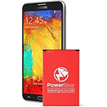 5e789c90438 PowerBear Compatible para Note 3 batería | ACTUALIZADO 3200 mAh Li-Ion batería  para el