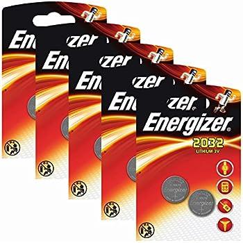 47bd31b62 Sony CR2032 3 V Lithium Cell Battery (5pcs per Pack): Amazon.es ...