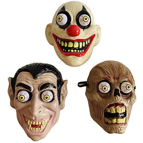 Augapfel Maske Kostüm - YINGZU Halloween Frühling Augapfel Horror Maske