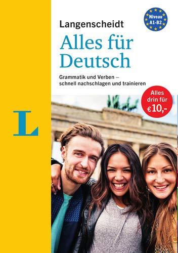 """Langenscheidt Alles für Deutsch - """"3 in 1"""": Kurzgrammatik, Grammatiktraining und Verbtabellen: Grammatik und Verben - schnell nachschlagen und trainieren"""