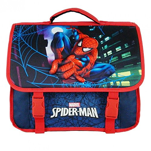 CARTABLE 38CM BLEU MARINE-SPIDERMAN MARVEL