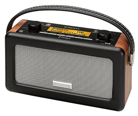 Roberts Vintage DAB/FM RDS Portable Radio with Built in Battery Charger
