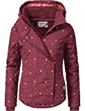 Sublevel Damen Winterjacke Outdoorjacke 46550D Red Gr. S