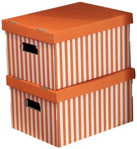 Compactor RAN611 - Set de 2 cajas de carton con tapa