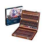 Derwent Coloursoft Crayons Boîte en bois de 48