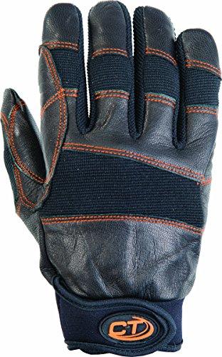 Climbing Technology Progrip Handschuh, ganze Finger, Unisex - Erwachsene, Progrip, schwarz