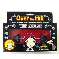 Idea Regalo - Over The Hill - Bilanciere per parti intime