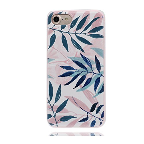 iPhone 7 Custodia, iPhone 7 Copertura Crystal Case gel trasparente [Slim-Fit] [Anti-Scratch] [assorbimento di scossa] iPhone 7 Copertura 4.7 (Cactus) # 1
